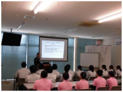 磐田警察による交通安全講習