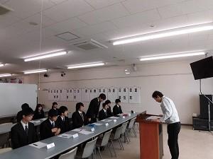 内定学生への入社説明会