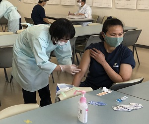 インフルエンザ予防接種